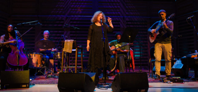 JLR Review – Sarah Jane Morris & Antonio Forcione Concert at Kings Place, October 2016