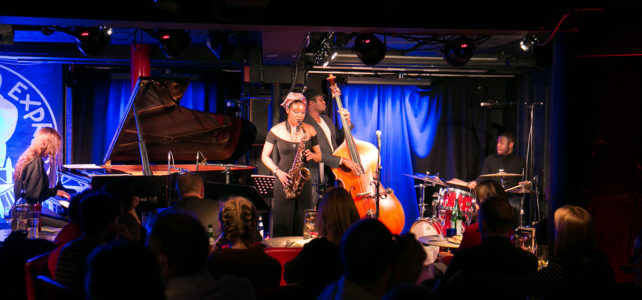 JLR Review – Camilla George Quartet at Pizza Express Jazz Club, January 2017